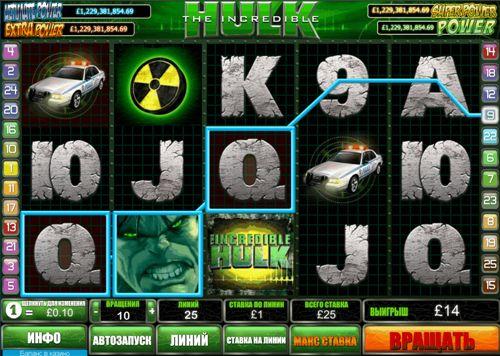 Игровой автомат Hulk with Marvel Jackpot
