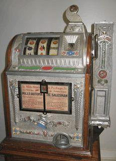 первый игровой автомат - колокол свободы